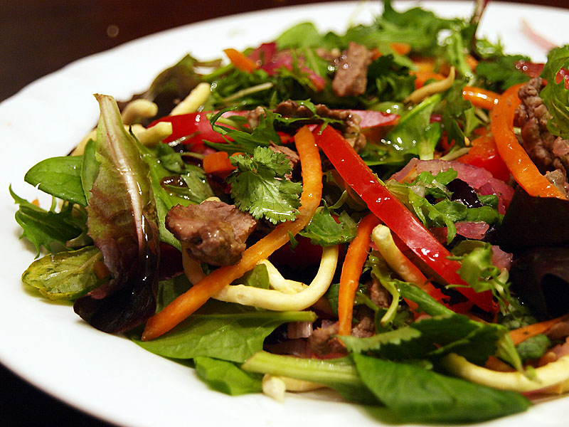 "Thai Beef Salad - Ang Sarap (A Tagalog word for ""It's Delicious"")"