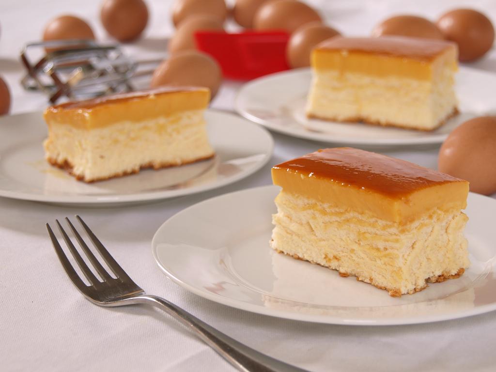 Custard Filled Cake Recipe