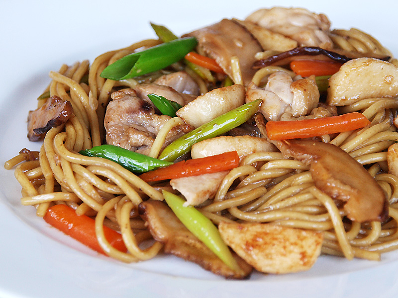 Chinese Food Lo Mein Nutrition Facts