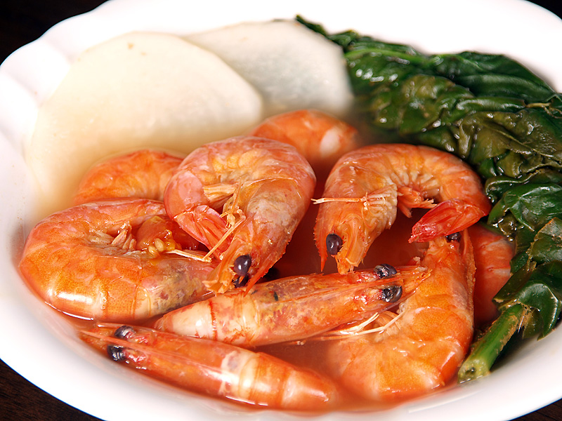 Sinigang na Hipon (Shrimp Sinigang)
