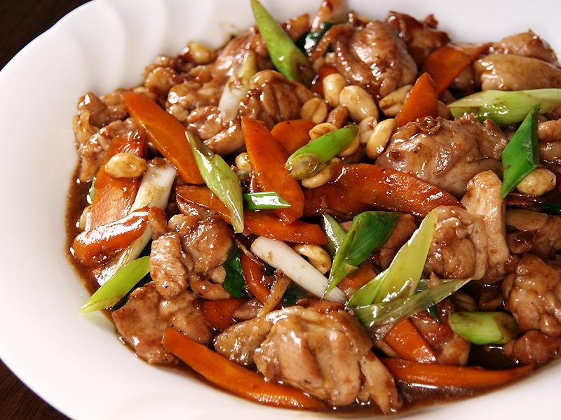 Kung Pao Chicken Recipe — Dishmaps