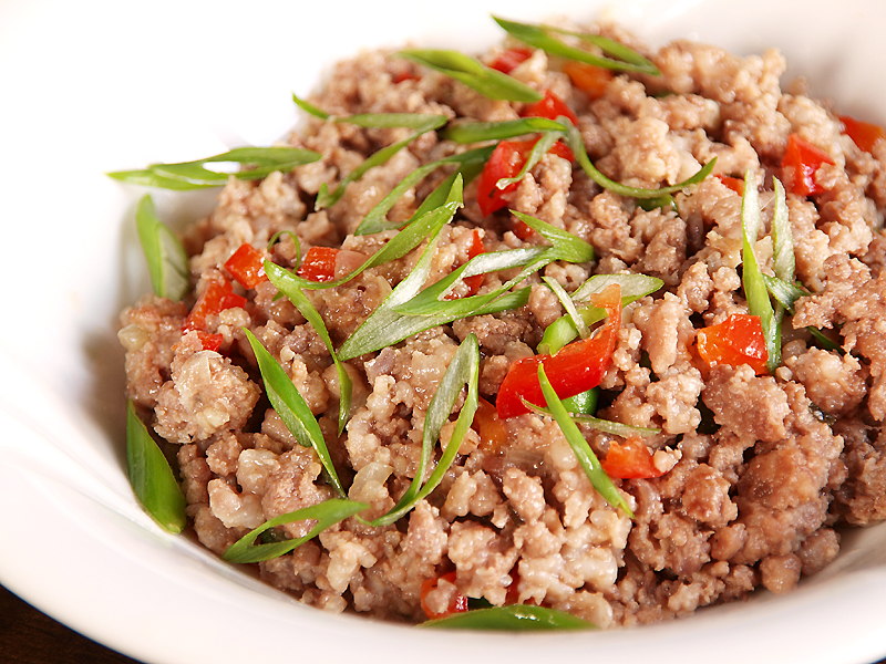 "Larb Gai - Ang Sarap (A Tagalog word for ""It's Delicious"")"