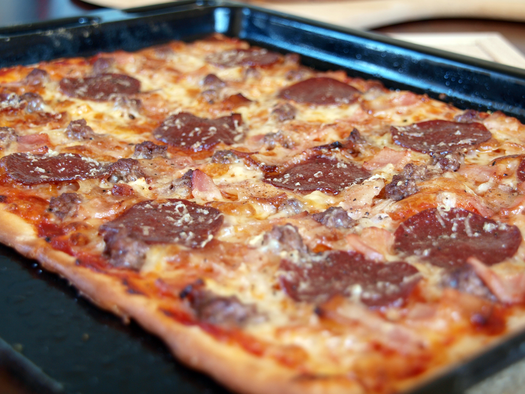 "Meat Lovers Pizza - Ang Sarap (A Tagalog word for ""It's ..."