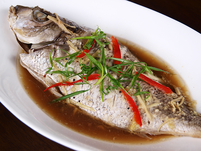 My food wish soya steamed fish recipe for Chinese steamed fish recipe
