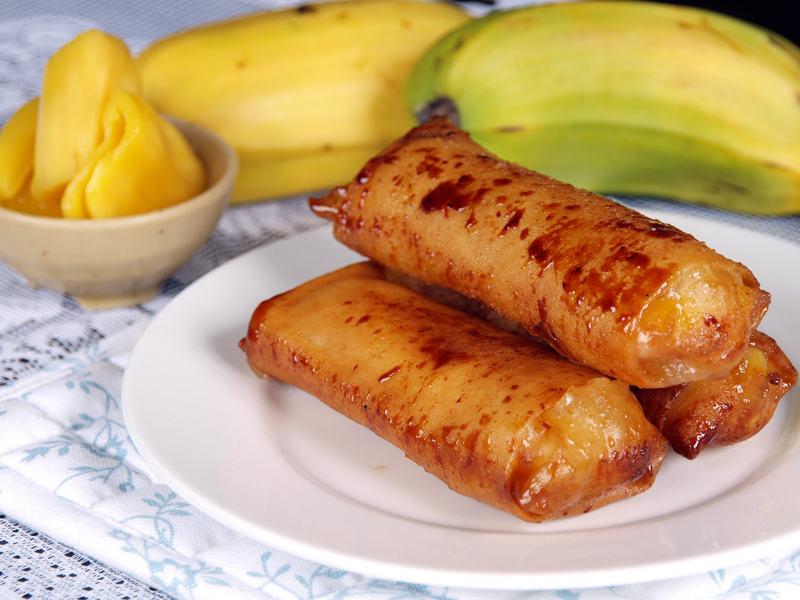 "Turon - Ang Sarap (A Tagalog word for ""It's Delicious"")"