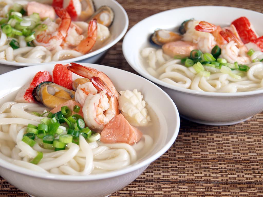 Seafood Udon - Ang Sarap