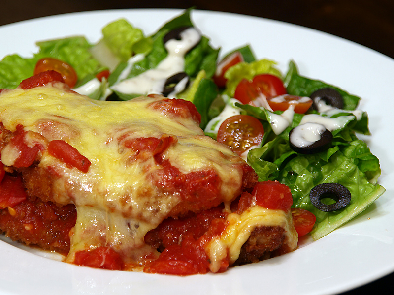 "Chicken Parmigiana - Ang Sarap (A Tagalog word for ""It's Delicious&q..."