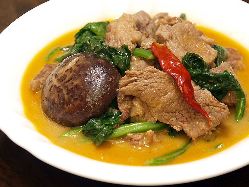 """Thai Red Beef Curry - Ang Sarap (A Tagalog word for """"It's Delicious&..."""
