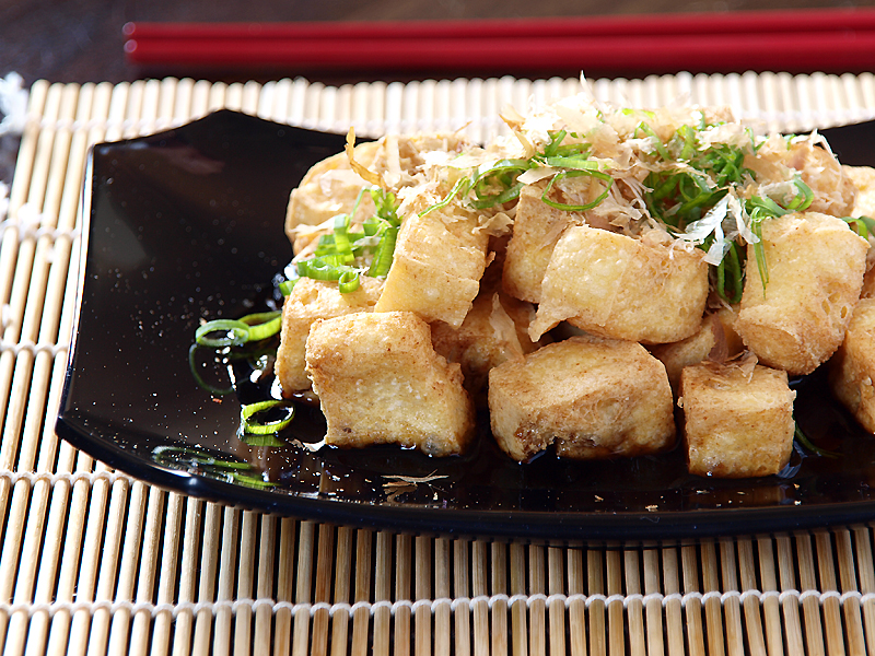 "Agedashi Tofu - Ang Sarap (A Tagalog word for ""It's Delicious"")"