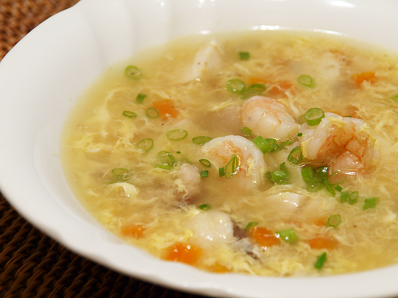 "Seafood Egg Drop Soup - Ang Sarap (A Tagalog word for ""It's Deliciou..."