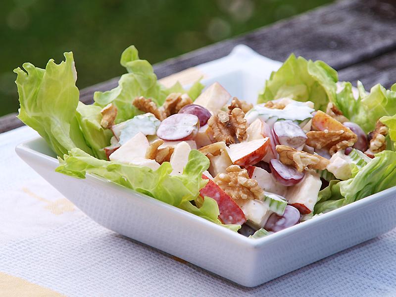"Waldorf Salad - Ang Sarap (A Tagalog word for ""It's ..."