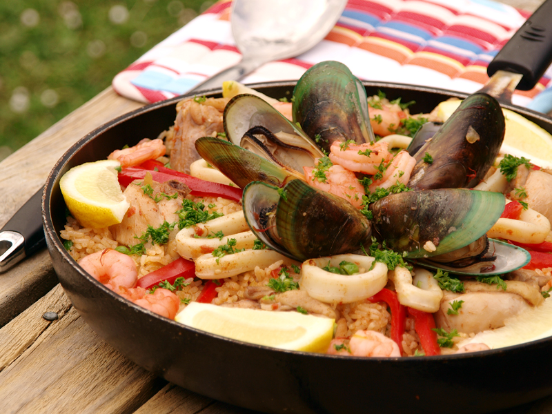 Paella perhaps is the most popular Spanish dish, it can be categorized ...