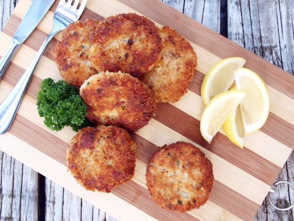 ... is the best recipe you can make out of it, Salmon and potato cakes