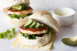 Guest Post : Martyna from Wholesome Cook featuring Salmon Burgers with a Caper Yoghurt Dressing