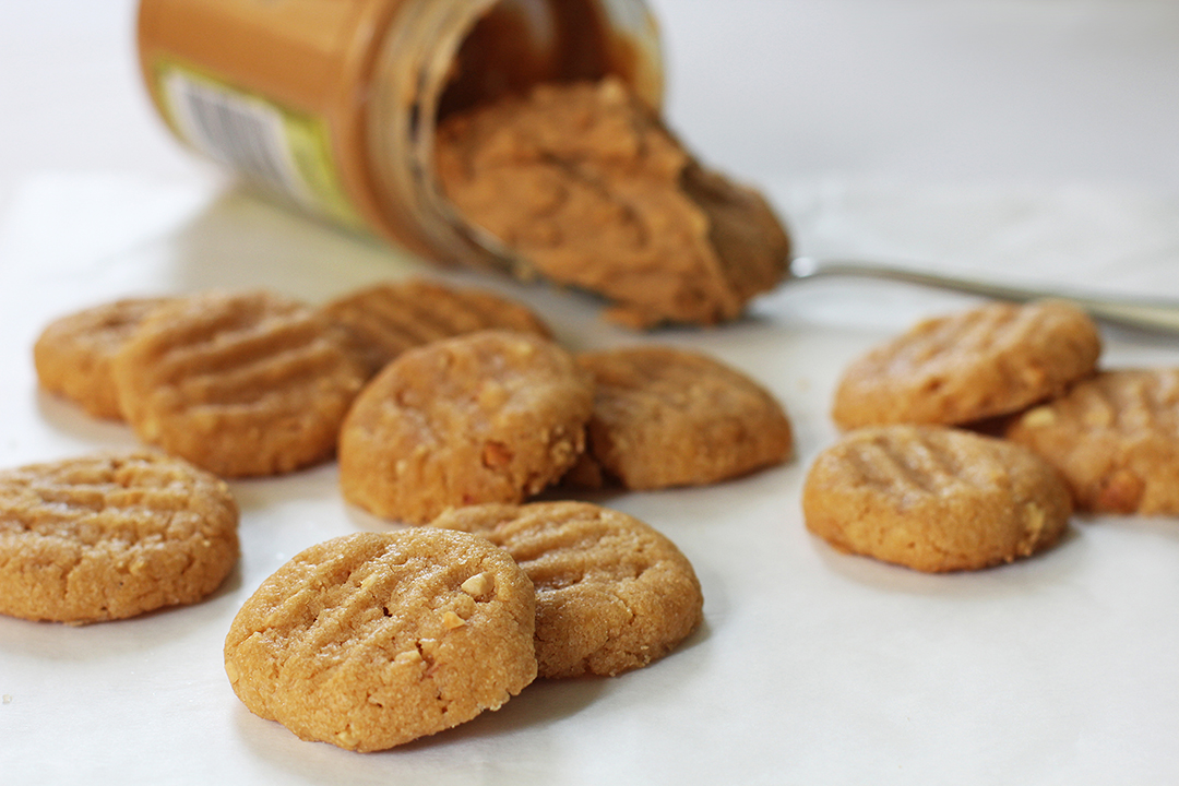 Peanut Butter Cookies Using Cake Mix