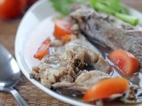 Sinigang na Ulo (Fish Head in Tamarind Broth)