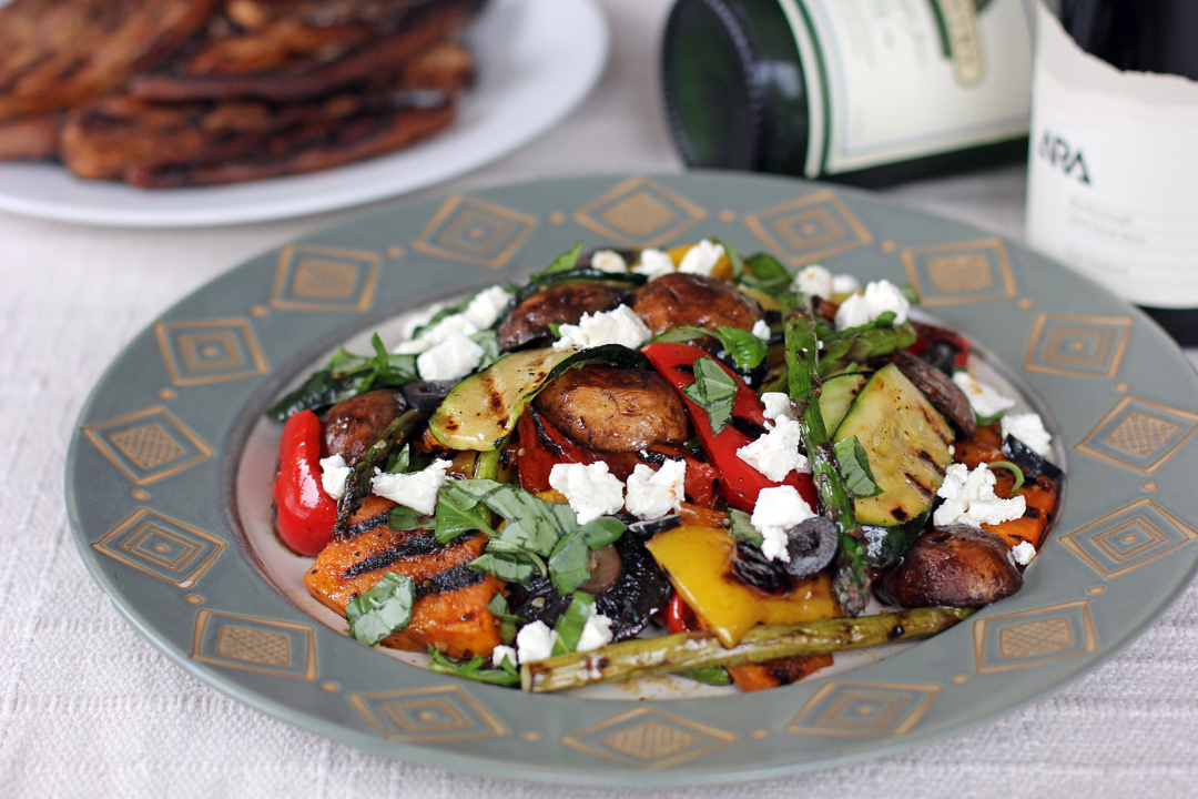 Grilled Vegetable Salad - Ang Sarap