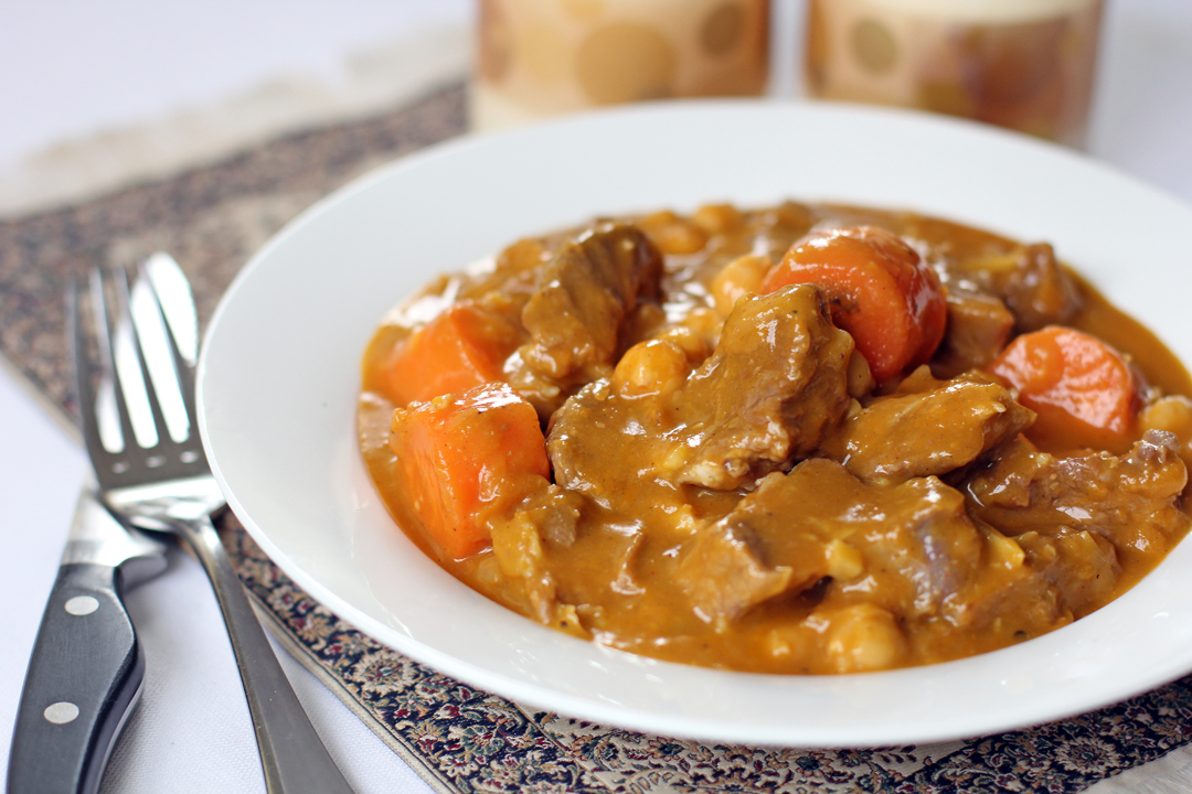 Moroccan Beef Stew Recipe — Dishmaps