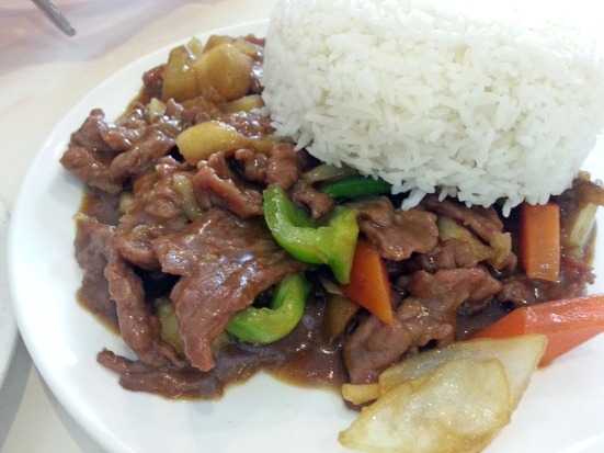Albany Chinese Restaurant Beef Curry
