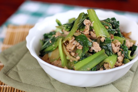 Stir Fried Shanghai in Fermented Anchovy Sauce