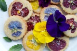 Guest Post : Barbara from Just a Smidgen featuring Cardamom Orange Zest Cookies with Pansy Topping