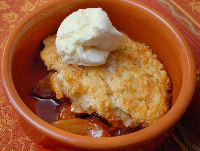 "Apple Cobbler - Ang Sarap (A Tagalog word for ""It's Delicious"")"