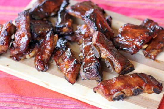 Hoisin Pork Ribs Wide