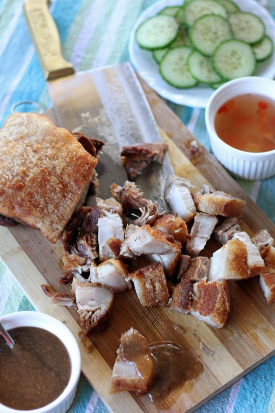 how to cook lechon kawali in tagalog