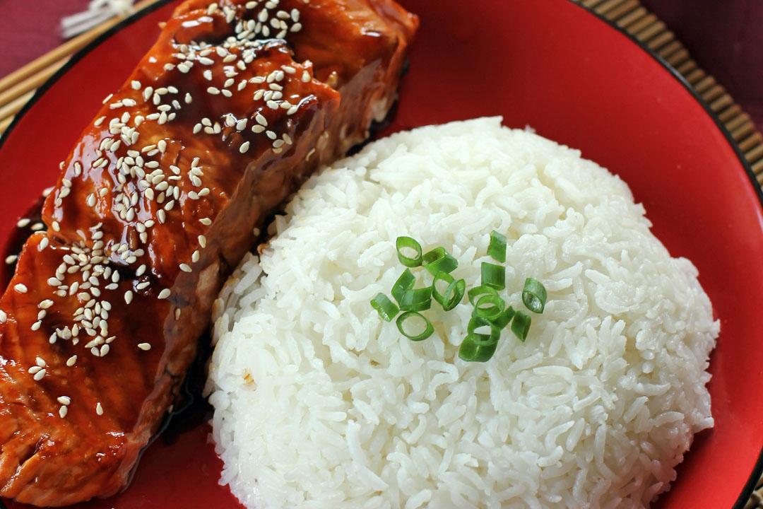 Salmon Teriyaki - Ang Sarap
