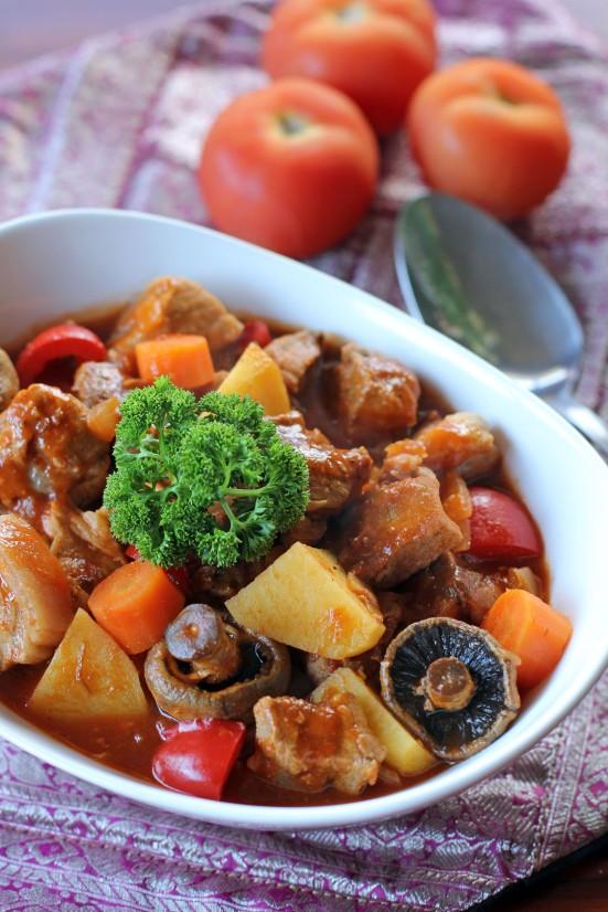 how to cook afritada tagalog